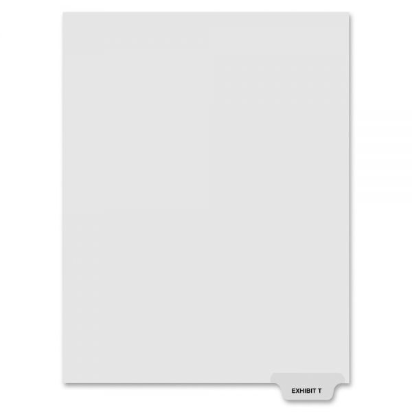Kleer-Fax 80000 Series Bottom-Tab Legal Exhibit Index Dividers