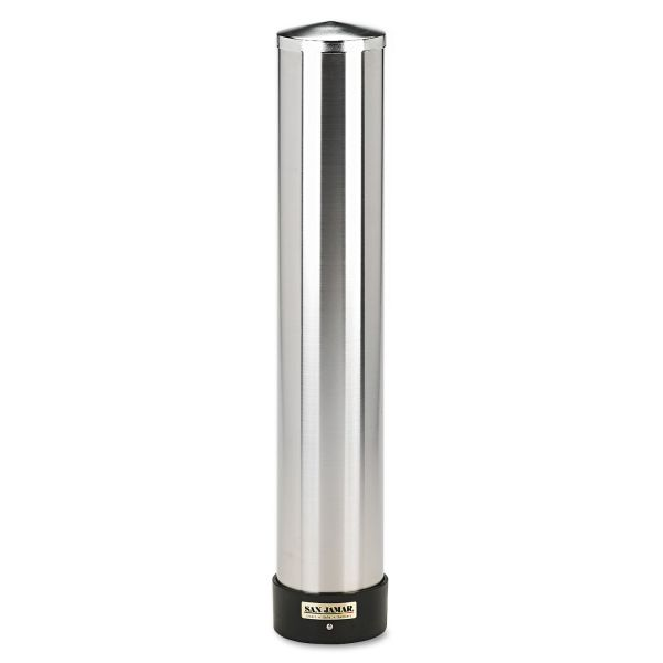 San Jamar Stainless Steel Gravity-Fed Cup Dispenser