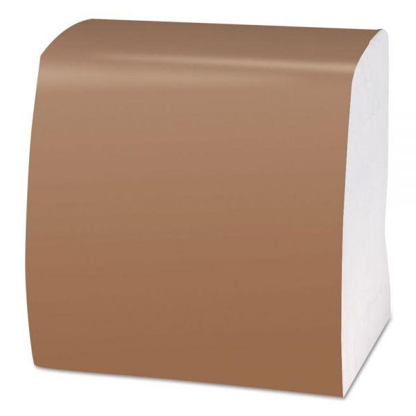 Scott 1/4-Fold Dinner Napkins, 1-Ply, 16 3/4 x 17, White, 250/Pack, 16/Carton