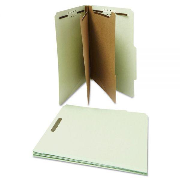 Universal 2-Divider Pressboard Classification Folders