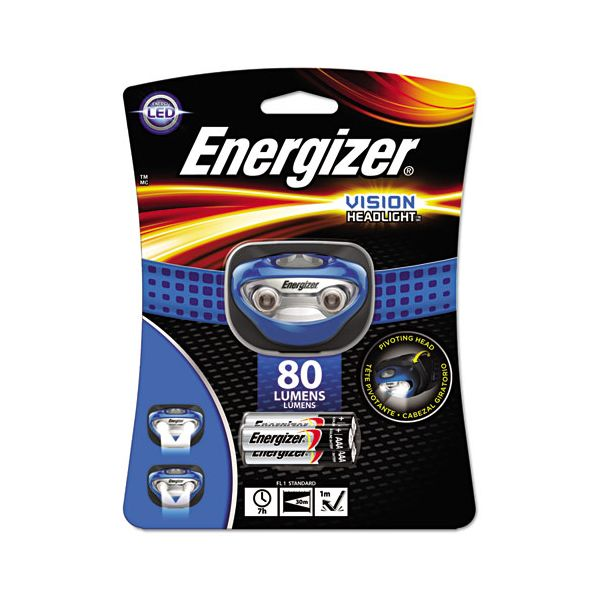 Energizer LED Headlight, 3 AAA, Blue