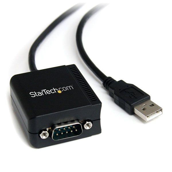 StarTech.com 1 Port FTDI USB to Serial RS232 Adapter Cable with Optical Isolation