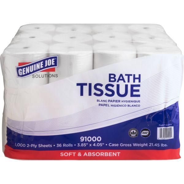 Genuine Joe Double Capacity 2 Ply Toilet Paper