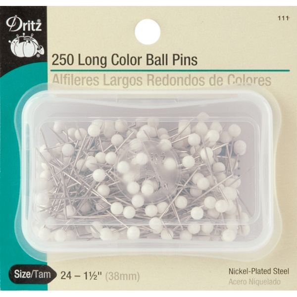 Long Color Ball Pins