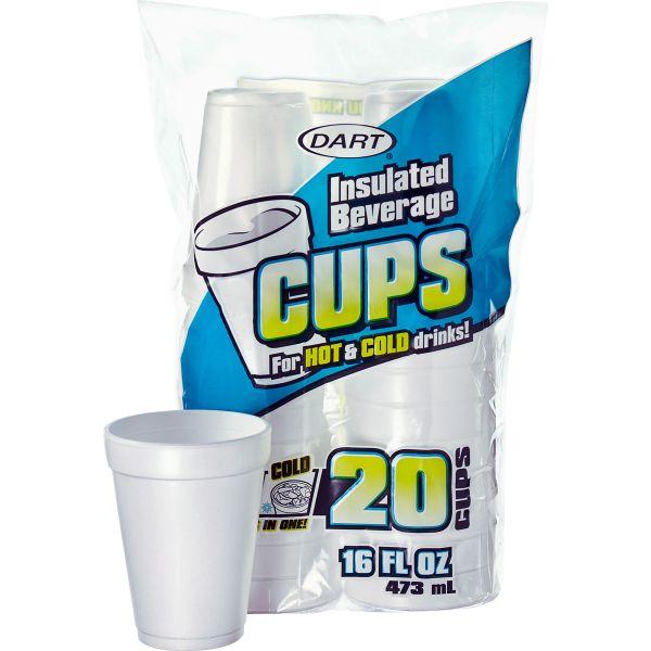 Dart Large 16 oz Foam Cups