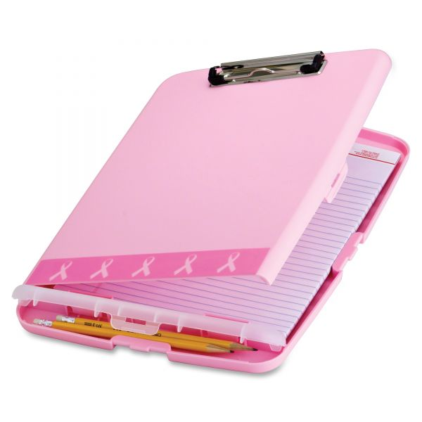 Officemate Breast Cancer Awareness Storage Clipboard