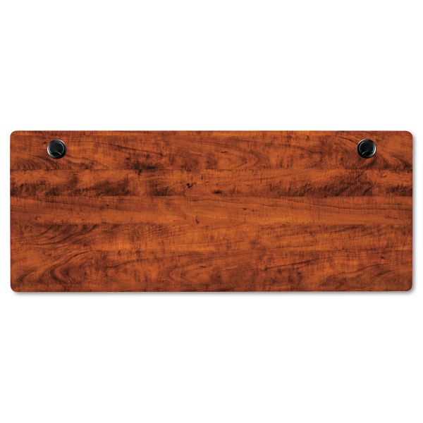 Alera Valencia Series Rectangular Table Top, 60w x 24d, Medium Cherry