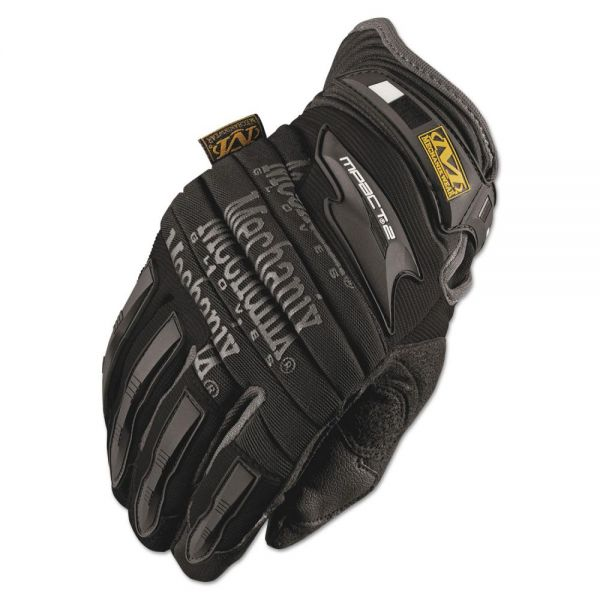 Mechanix Wear M-Pact 2 Gloves, Black, Large