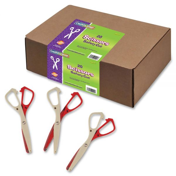 ChenilleKraft Safety Cut Scissors Classpack