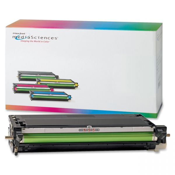 Media Sciences Remanufactured Xerox 113R00726 Black Toner Cartridge