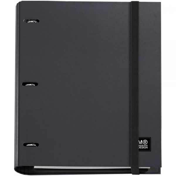 3-Ring Refillable Binder & 100 Sheets Of Paper