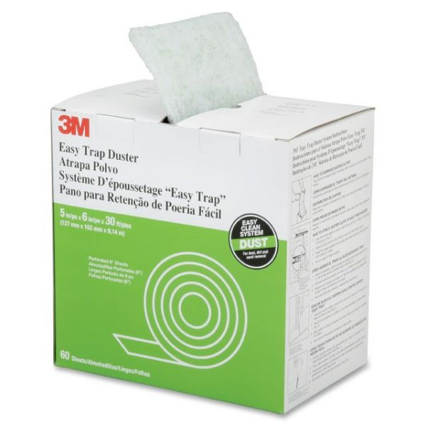 SKILCRAFT Easy Trap Disposable Duster Sheets