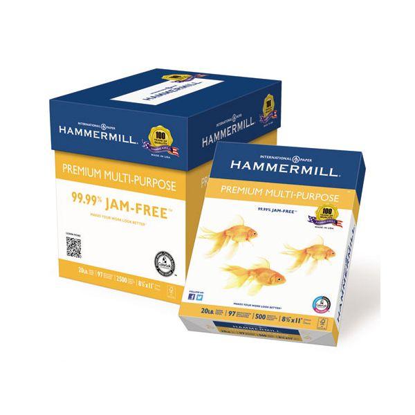 Hammermill Premium Multi-Purpose White Copy Paper