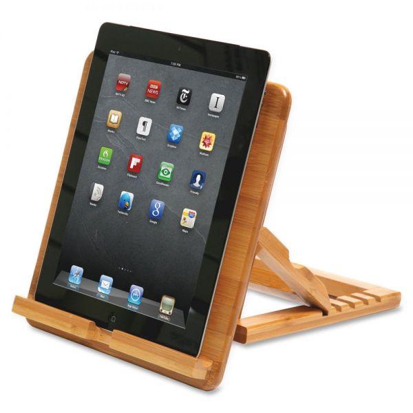 Baumgartens Qi Bamboo iPad Stand
