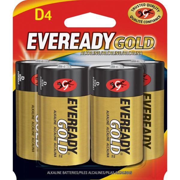 Eveready Gold D Batteries