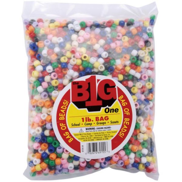 Darice Big One Pony Beads