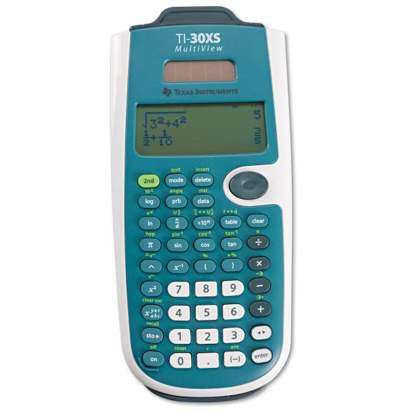 Texas Instruments TI30XS MultiView Scientific Calculator