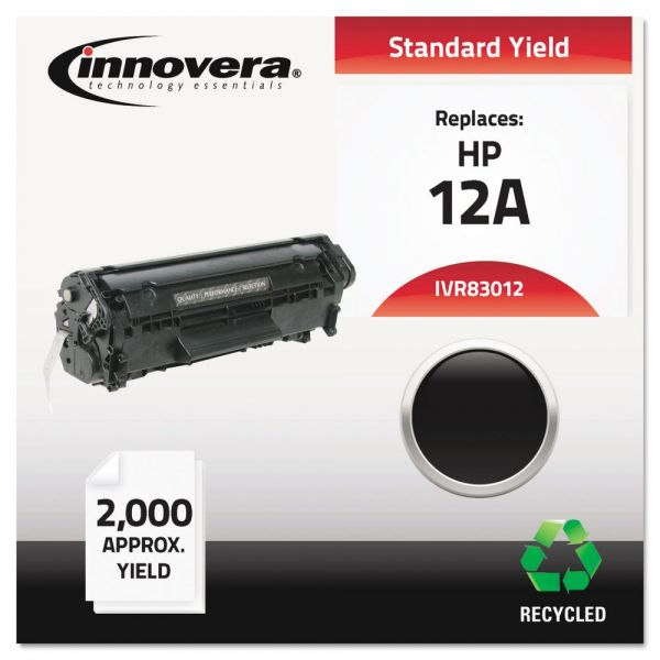 Innovera Remanufactured HP 12A Toner Cartridge