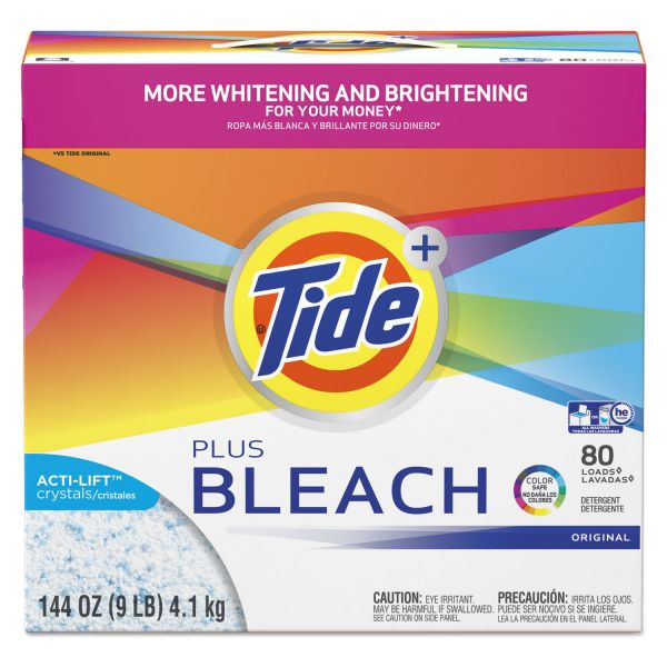 Tide Ultra Laundry Detergent Plus Bleach