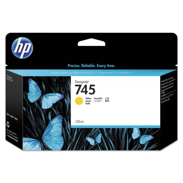HP 745 Yellow Ink Cartridge (F9J96A)