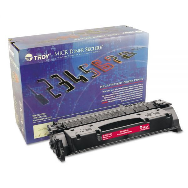 Troy Remanufactured HP CF280X Black High-Yield Toner Cartridge