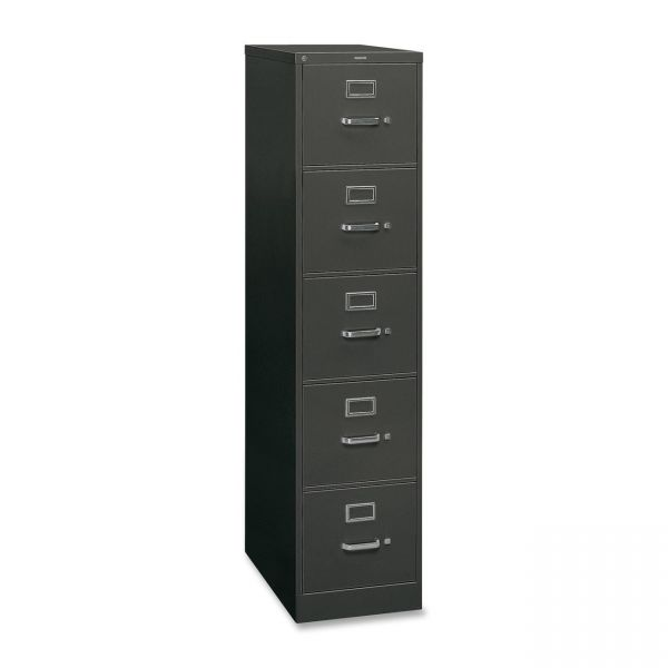HON 310 Series 5-Drawer Vertical File Cabinet