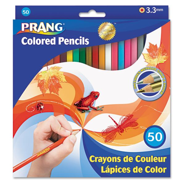Prang Woodcase Colored Pencils