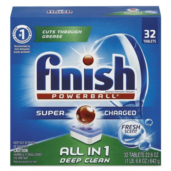 FINISH Dishwasher Soap Tabs