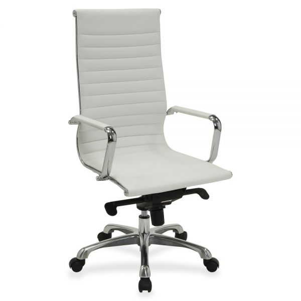 Lorell Modern Executive Leather Office Chair