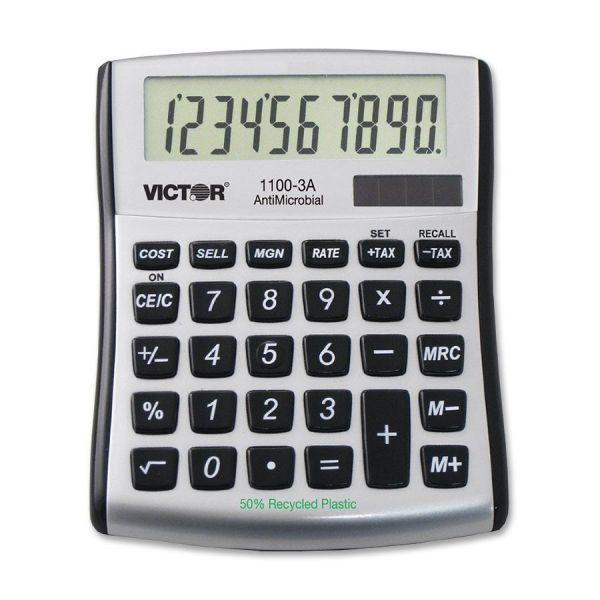 Victor 1100-3A AntiMicrobial Mini Desktop Calculator