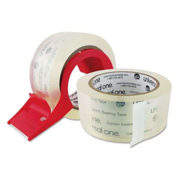 Universal One Packing Tape with Dispenser