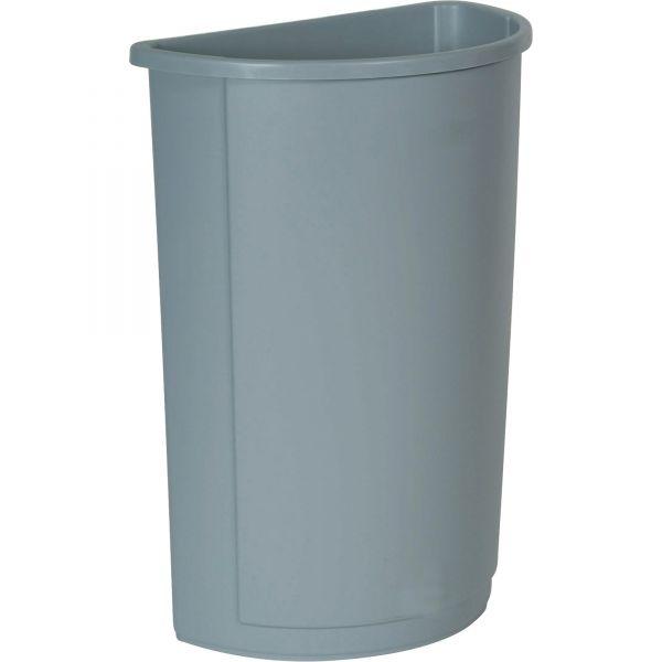Rubbermaid Half Round 21 Gallon Trash Can