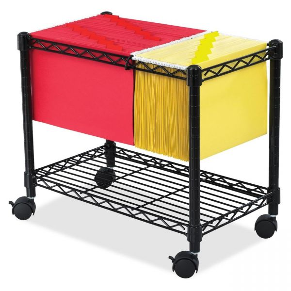 Safco Wire Mobile File Cart