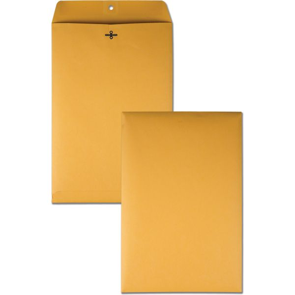 "Quality Park Gummed 10"" x 15"" Clasp Envelopes"