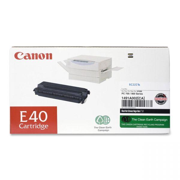 Canon E40 Black Toner Cartridge