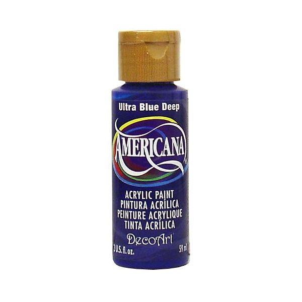 Deco Art Ultra Blue Deep Americana Acrylic Paint