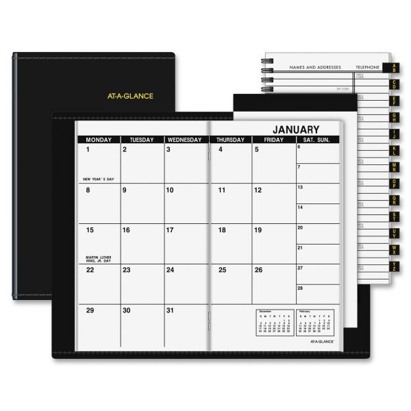At-A-Glance Monthly Pocket Planner