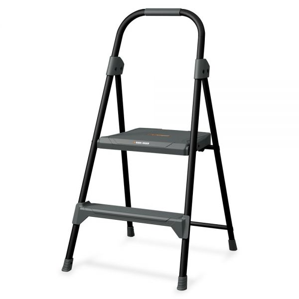 Louisville 2' Steel Domestic Step Stool