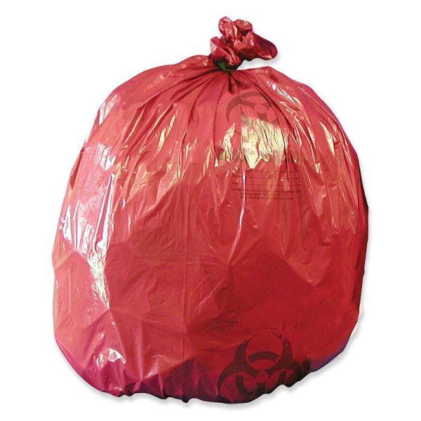 Medegen MHMS Red Biohazard Infectious Waste Liners
