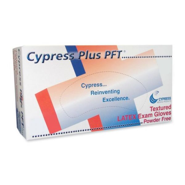 Cypress Plus Latex Exam Gloves