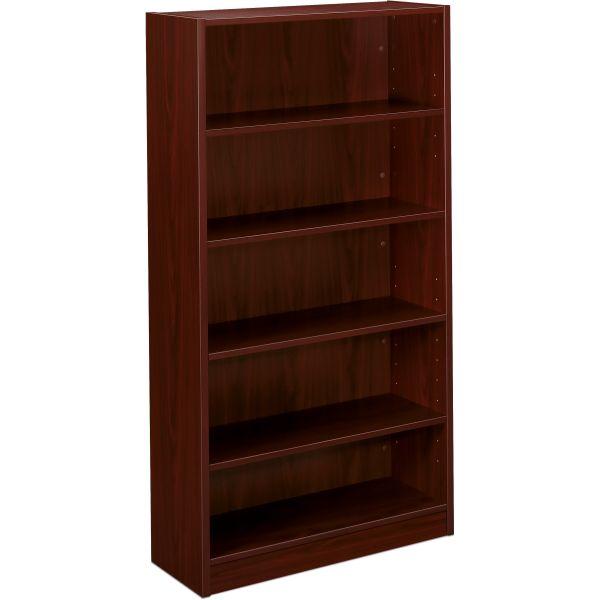 HON BL Series 5-Shelf Laminate Bookcase