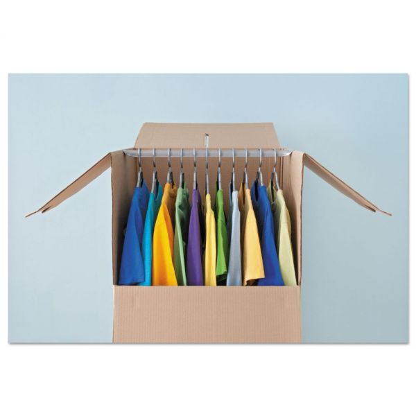 General Supply Wardrobe Moving/Storage Box Hanger Bars