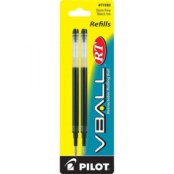 Pilot VBall Retractable Rolling Ball Pen Refills