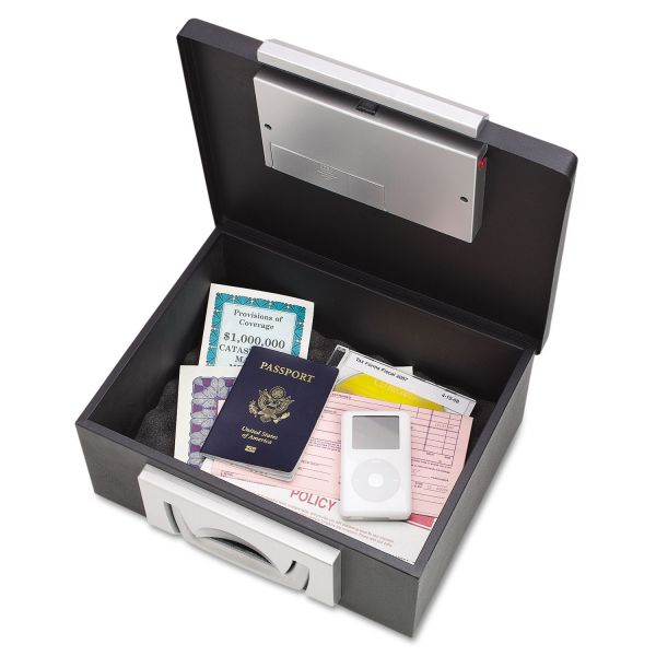 MMF Industries Fire Resistant Electronic Cash Box