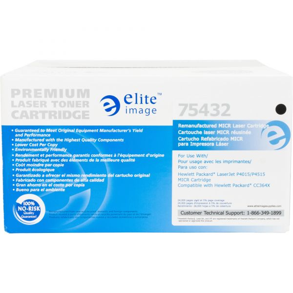 Elite Image Remanufactured HP 64X (CC364X) High Yield Toner Cartridge