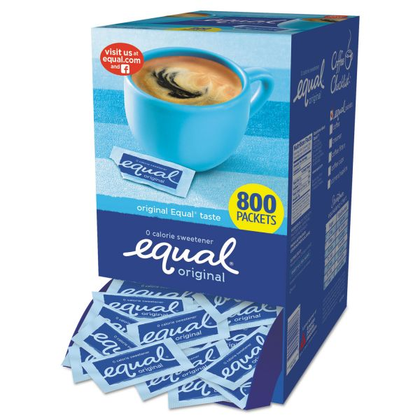 Equal Zero Calorie Sweetener Packets