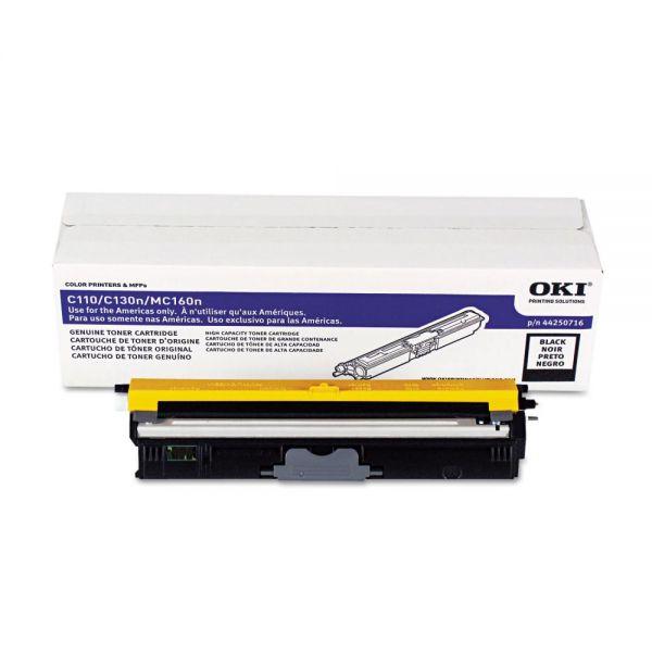 Oki 44250716 Black Toner Cartridge