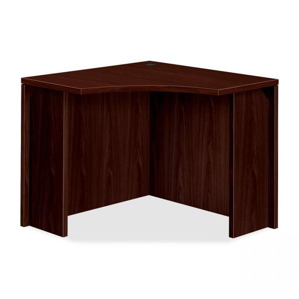 HON 10500 Series Curved Corner Office Desk