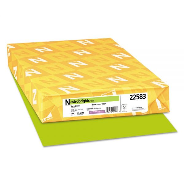 Astrobrights Colored Paper - Terra Green