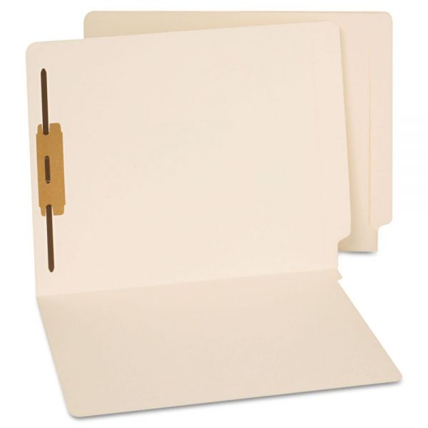 Universal End Tab File Folders With Fasteners